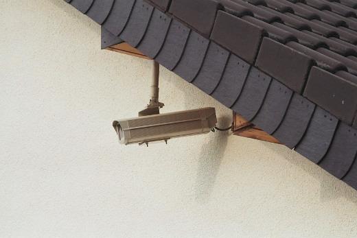 Bild 2. Die Überwachungskamera ist sehr effektiv