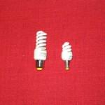 Energiesparlampen als Ersatz für Glühbirnen