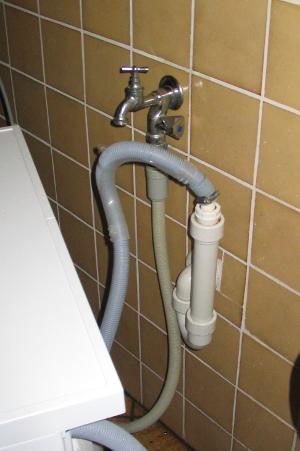 waschmaschine ohne abfluss
