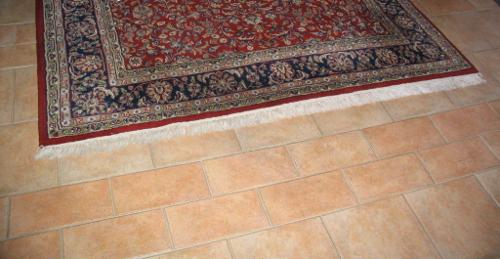 Ein Fliesenboden ist leicht zu säubern