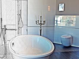 Luxurioses Bad  Bildquelle: © Thorsten Pahlke / pixelio.de