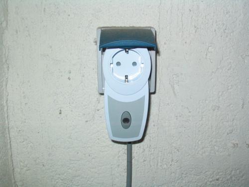 """""""Die Funkschaltsteckdose enthält die intelligente Schnittstelle zum Funksender"""""""