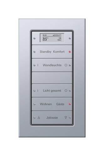 Typischer Tastsensor aus dem Gira Schalterprogramm.