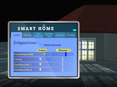 Bild 2: Komfort-Elektronik im Eigenheim